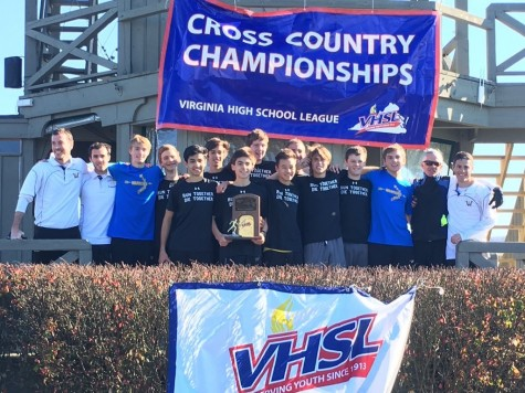 Boys CC Runs Away With State title