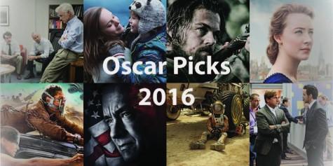 2016 Oscar Predictions