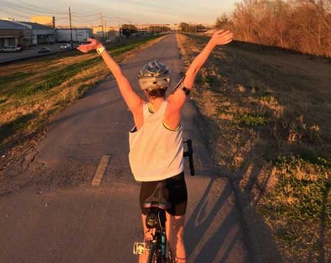 WAHS Alumna Bikes the Road to Success