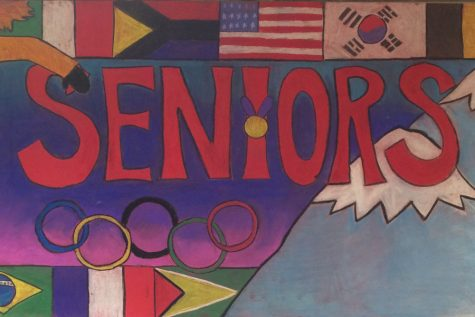 Spirit Week Kicks Off With Murals