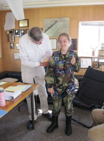 Sarah Brewster Flies Towards Her Pilot's License