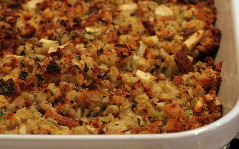 Moore family's Cornbread Stuffing