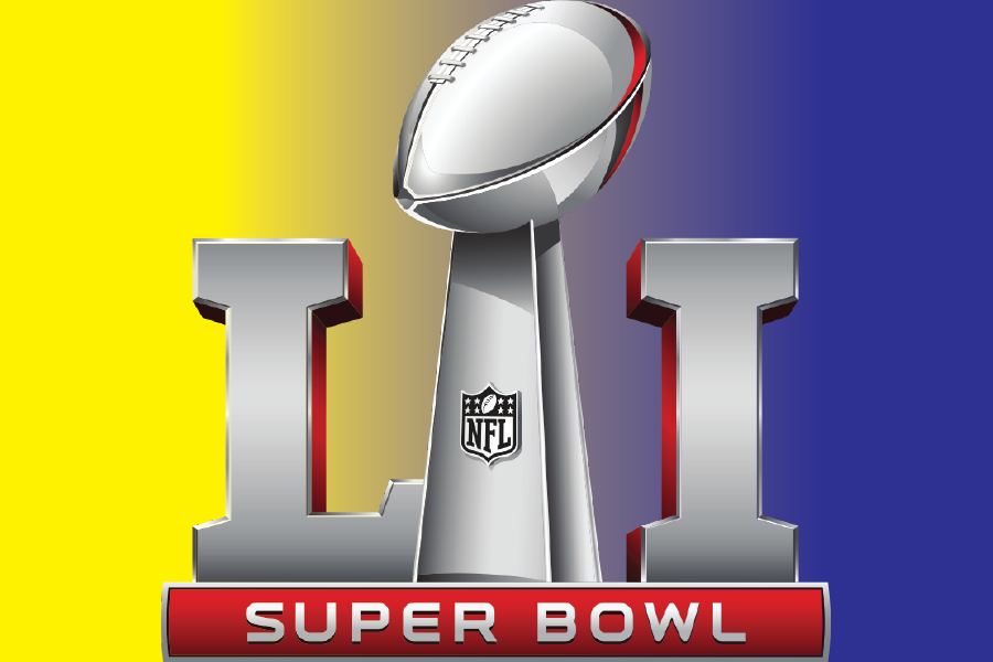*The Super Bowl LI Logo is property of NFL Communications and the National Football League. The Western Hemisphere claims no ownership of the above logo.