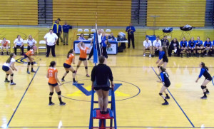 Varsity Volleyball Loses to Fort Defiance