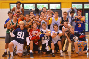 Spirit Week 2013:  Scenes from Dodgeball