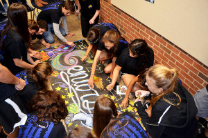2013:  Students Start the Spirit Week Competition