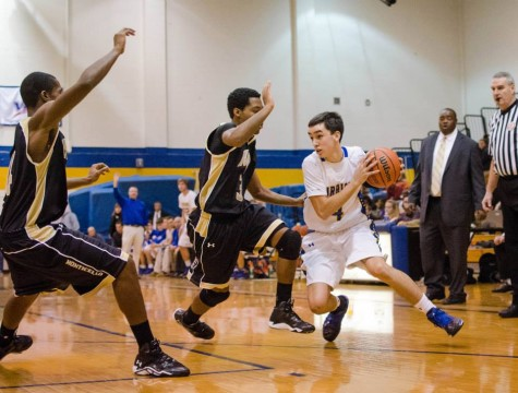 Boys Basketball Advance in Conference Semifinals