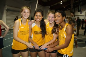 Indoor Track Team Anxiously Awaits Conferences