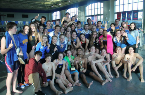 Boys Swimming Win at Conferences