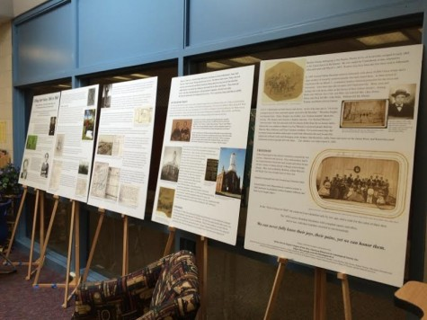 The Library Hosts Black History Month Display