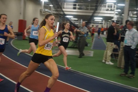 WAHS Girls Indoor Track Finishes 3rd at State Meet