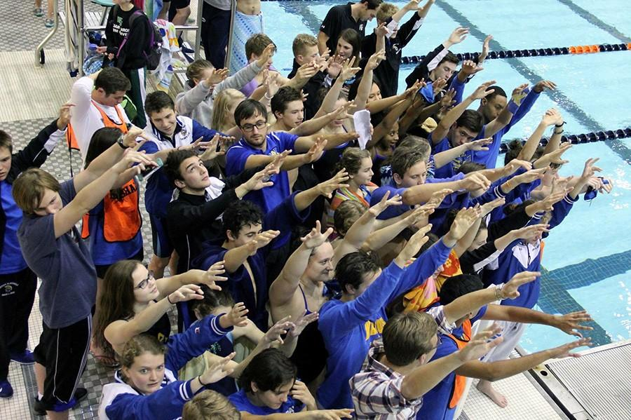 Both WAHS Swim teams are reigning State Champions