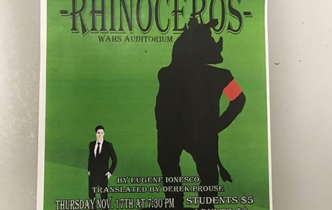 Stampede! Drama Department Unveils Fall Play, Rhinoceros
