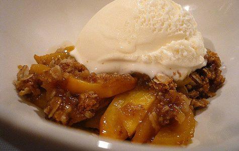 Heon's Peach Crisp