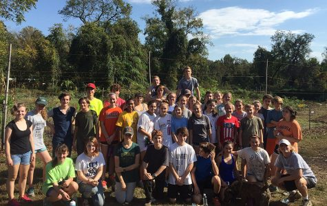 ESA Students Help at Local IRC Garden