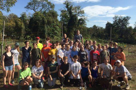 ESA Students Help at Local IRC Garden