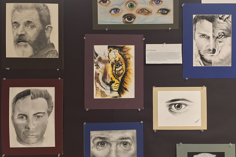 A selection of work by senior James Buetow