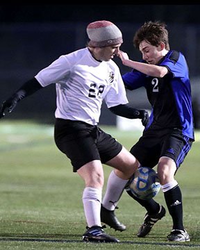 Colby Wren is one of three freshmen on varsity soccer