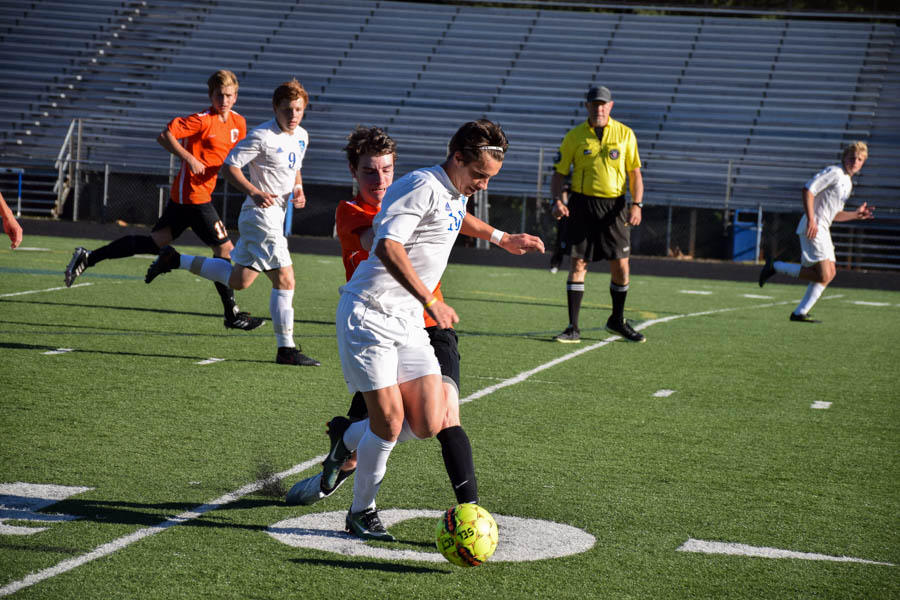 Slideshow: Varsity Boys Soccer vs. Charlottesville