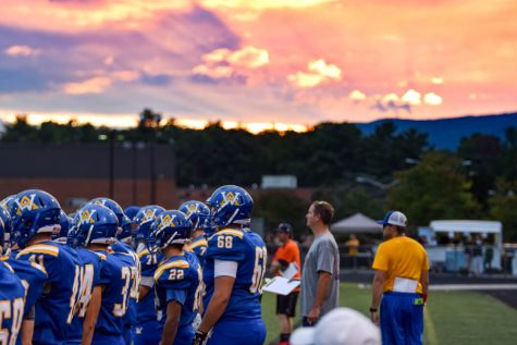 WAHS Varsity Football @ Charlottesville: The Photos