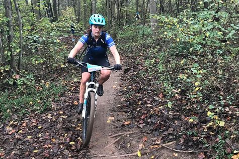 Mountain Biking Team Travels Old Trails