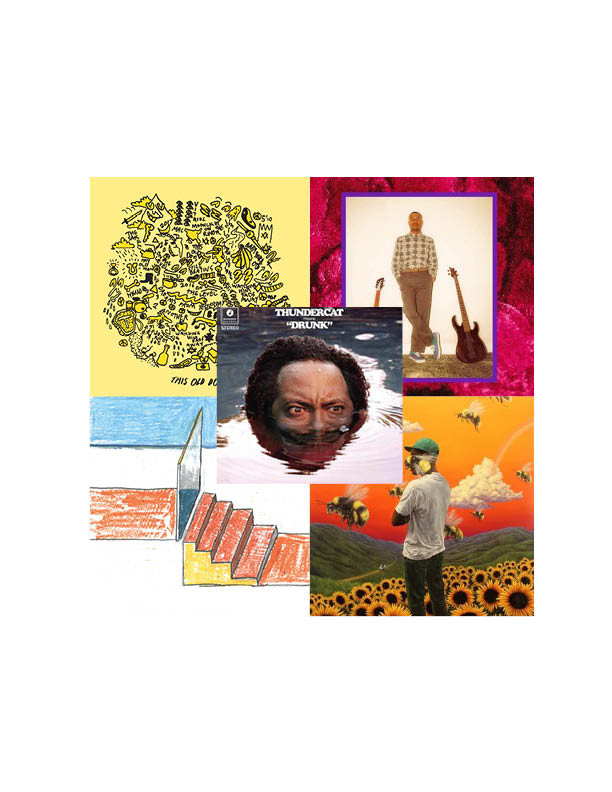 Top 5 Albums of 2017