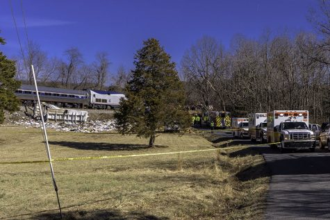 Train Carrying Lawmakers Hits Truck in Crozet