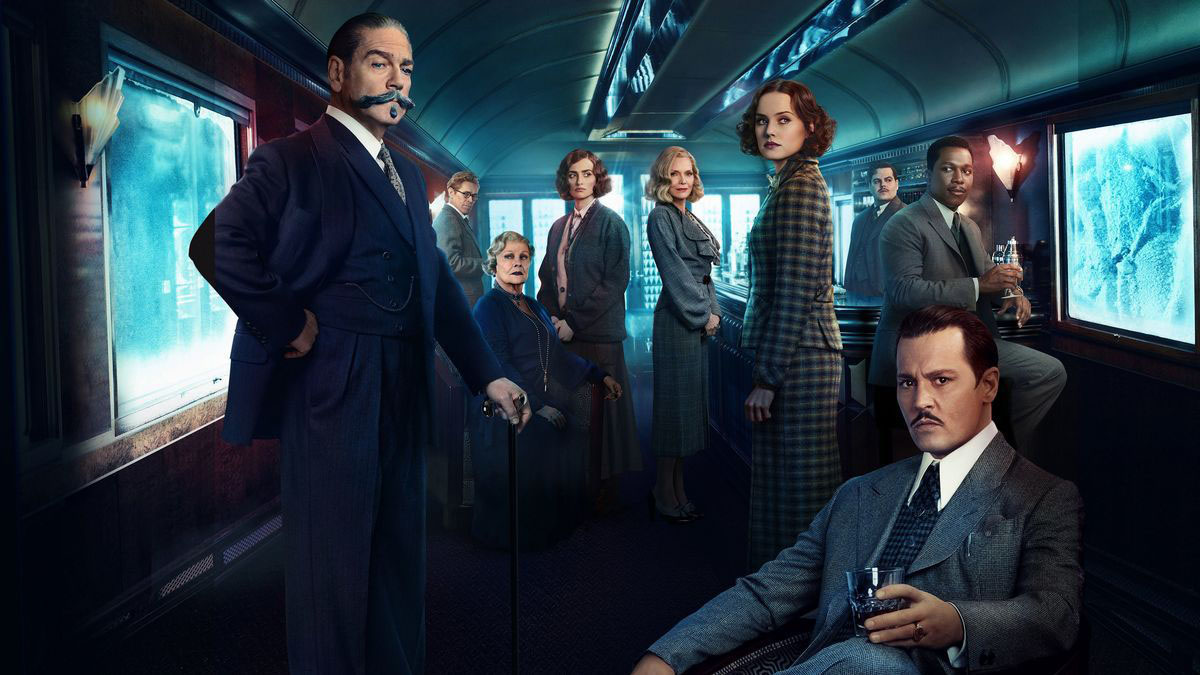 The cast of this Agatha Christie adaptation, starring Kenneth Branagh
