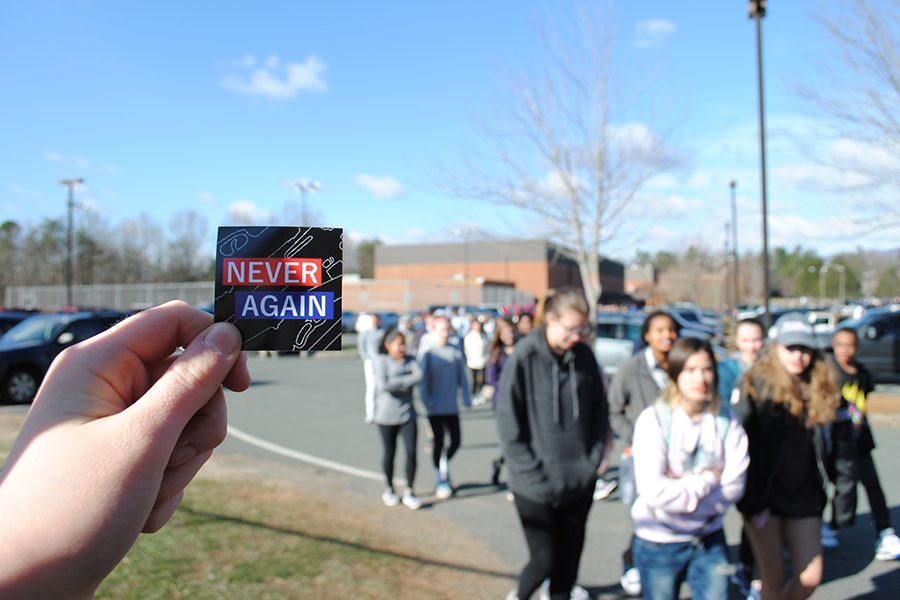 Students+Participate+in+National+Walkout