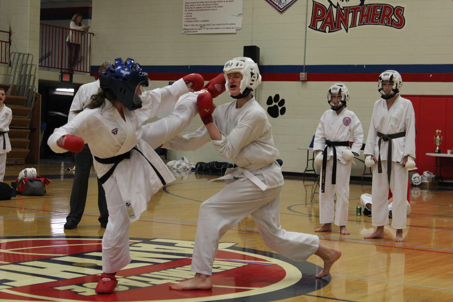 Davidson practices the karate style Shotokan, hoping to make it to the 2020 Olympics in Tokyo