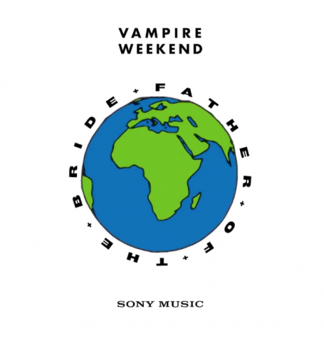 Cover art for Vampire Weekend's newest album,