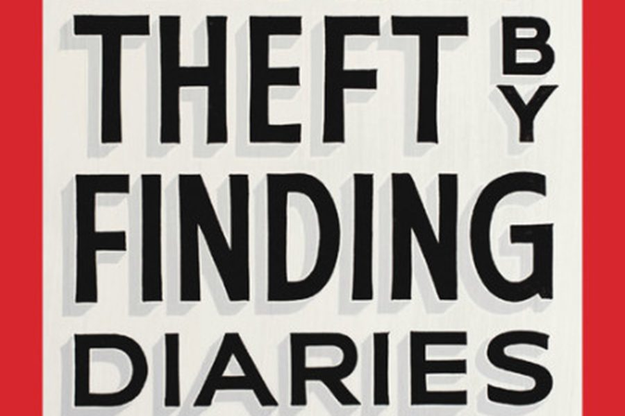 David Sedaris's most recent release: Theft by Finding Diaries