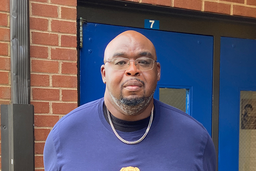 After holding many roles before becoming a principal, Hackney knows the challenges of being a teacher but is here to help.